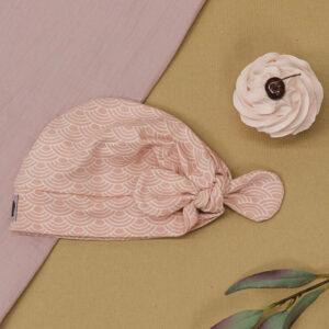 Turbanmütze – rosa Regenbögen