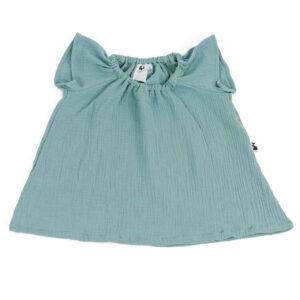 Bluse – Musselin – meeresgrün