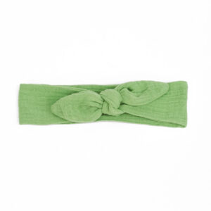 KnotenHaarband – apfelgrün
