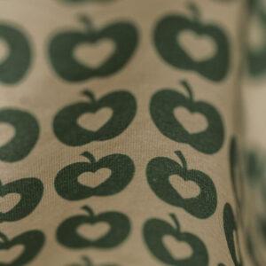 Knotenmütze – Äpfel – grün