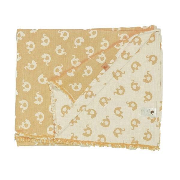 Mummelito-Decke-Elefanten-senfgelb (2)