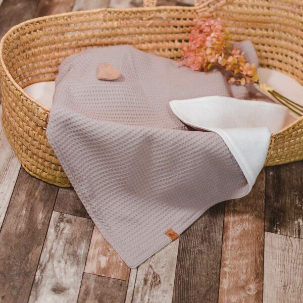 Mummelito-Decke-Waffelpique-beige (1)