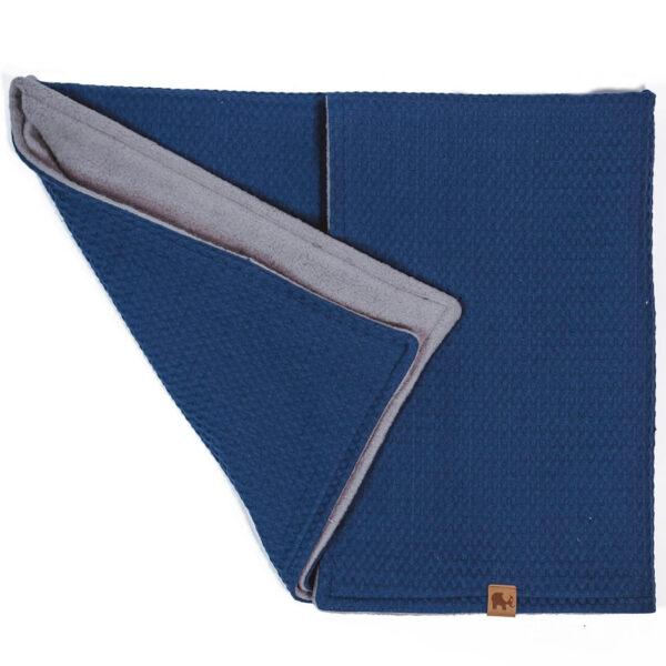 Mummelito-Decke-Waffelpique-jeansblau (1)
