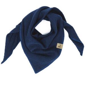 Musselintuch – marineblau – Kind