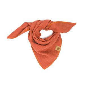 Musselintuch – rostorange – Baby