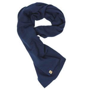 XXL-Musselintuch – viereckig – marineblau