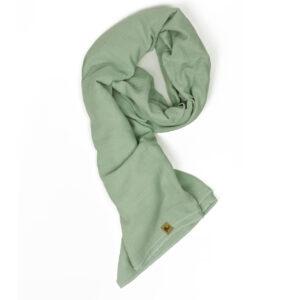 XXL-Musselintuch – viereckig – salbeigrün