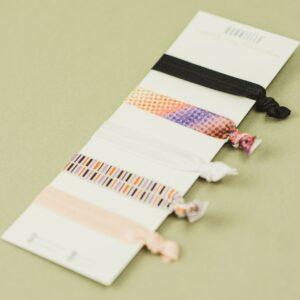 Haargummi-Set – Farbverlauf