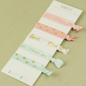 Haargummi-Set – Blumenmädchen