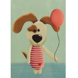 Kinderzimmerbild – Hund – DIN A4