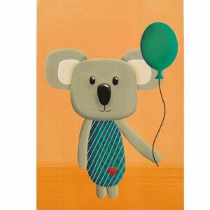 Kinderzimmerbild – Koala – DIN A4