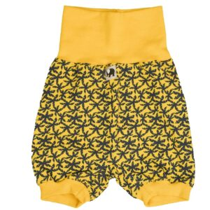 kurze Hose – Palme – gelb