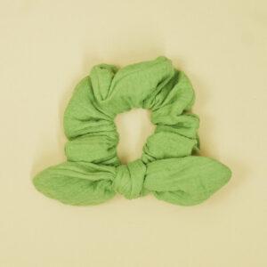 SchleifenScrunchie – apfelgrün