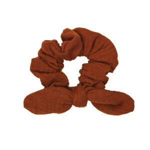 SchleifenScrunchie – rostorange