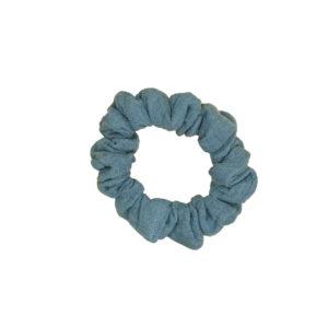 Scrunchie – jeansblau