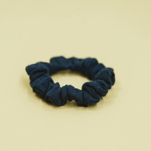 Scrunchie – marineblau