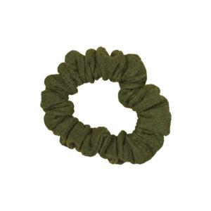 Scrunchie – olivgrün