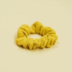 Scrunchie – senfgelb