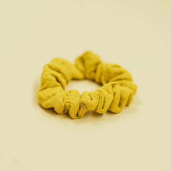 Mummelito-Scrunchie-senfgelb (5)