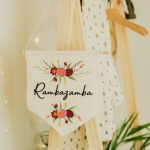 bestickter Wimpel – Rambazamba