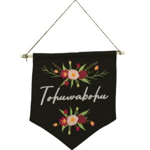 bestickter Wimpel – Tohuwabohu