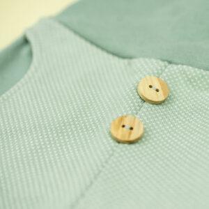 Jacquardhose – Punkte – salbeigrün