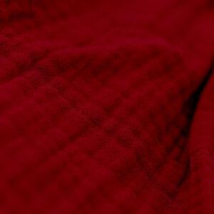 Bluse – Musselin – feuerwehrrot
