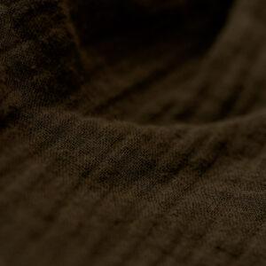 Bluse – Musselin – schokobraun