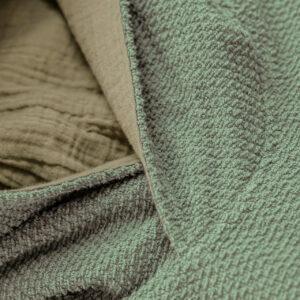Badeponcho – Frottee – meeresgrün