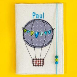 Uheft-Hülle – Heißluftballon – Paul