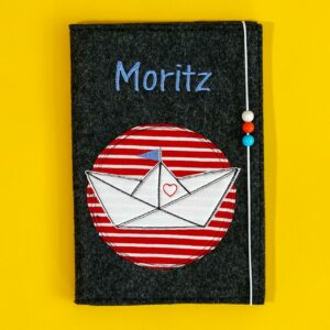 Uheft-Hülle – Boot – Moritz