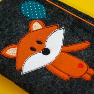 Uheft-Hülle – Fuchs – petrol