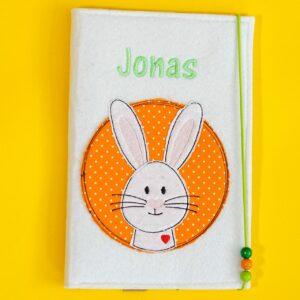 Uheft-Hülle – Hasenkopf – Jonas