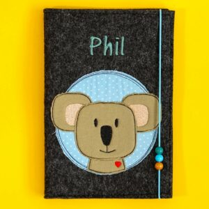 Uheft-Hülle – Koalakopf -Phil