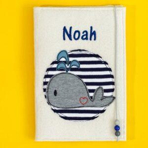 Uheft-Hülle – Wal – Noah