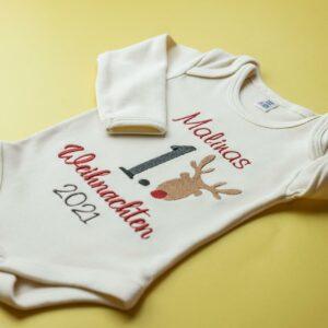 Body – erstes Weihnachten – Rentier